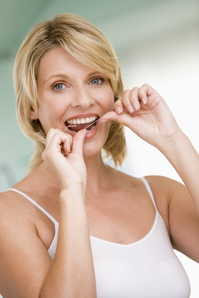 Flossing Dentistry with Smiles WA 98225